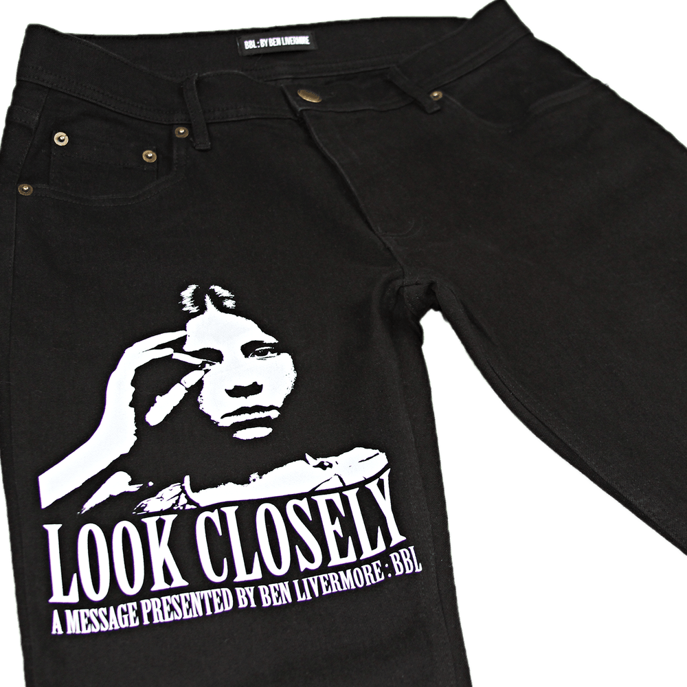 Image of Look Closely Jeans