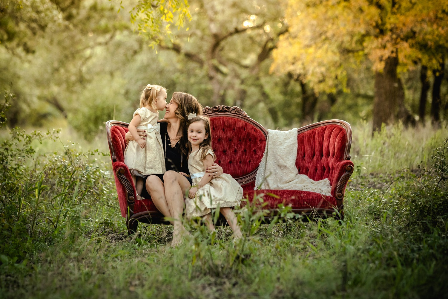 """Image of Limited Edition """"Red Couch"""" Fall Sessions"""