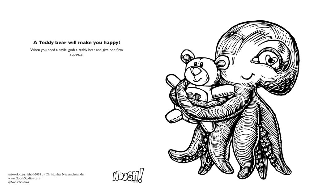 Noosh! A coloring book.