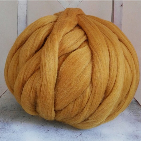 Image of Merino roving wool