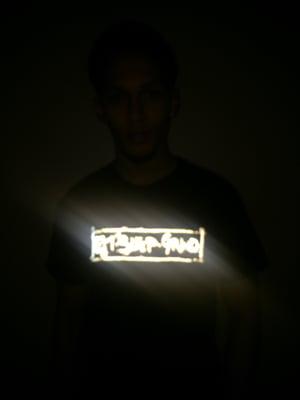 Image of Unisex 'Eat Sleep Grind' Reflective Tee