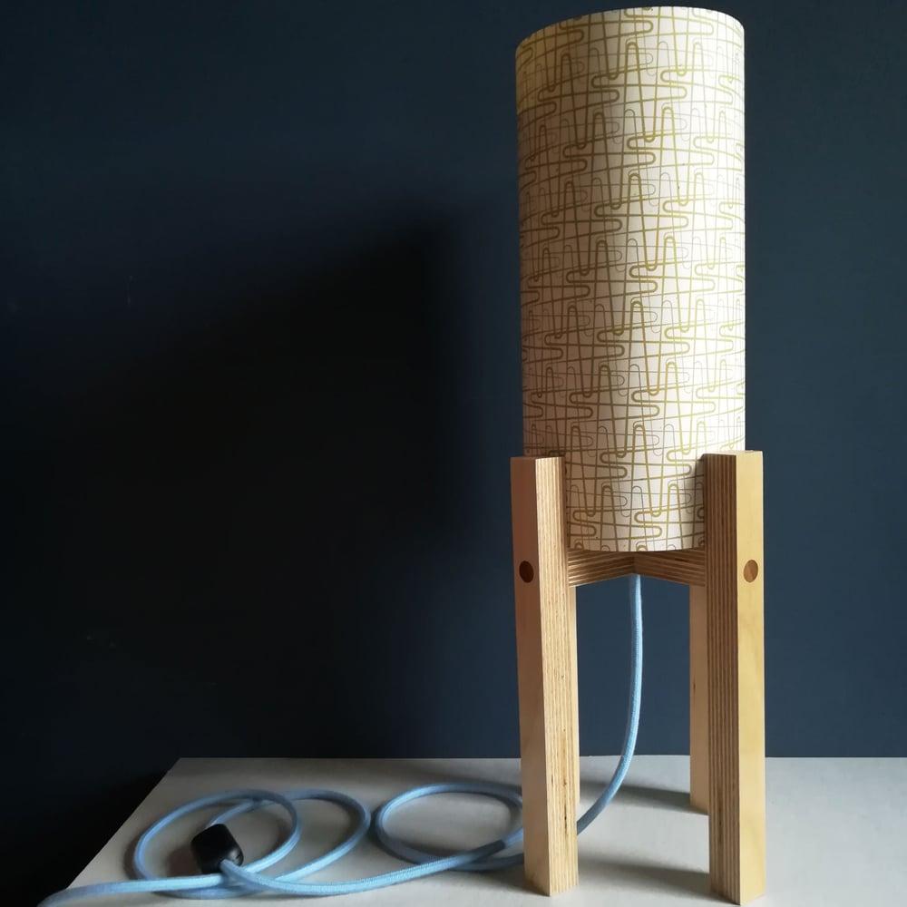Image of 'Zig Zag' Table Lamp