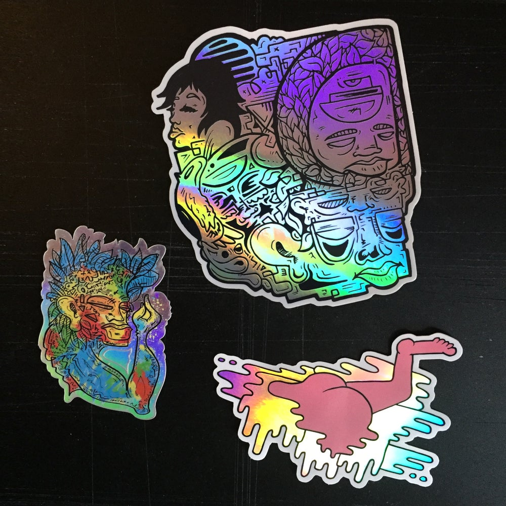 Image of Holographic Sticker Pack