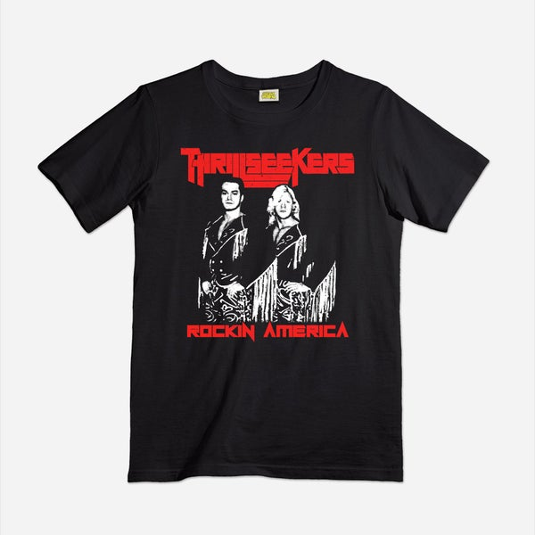 Image of Vintage Thrillseekers tag team shirt