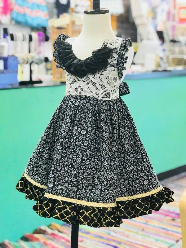 Image of 18-24m New Years Party Dress OOAK
