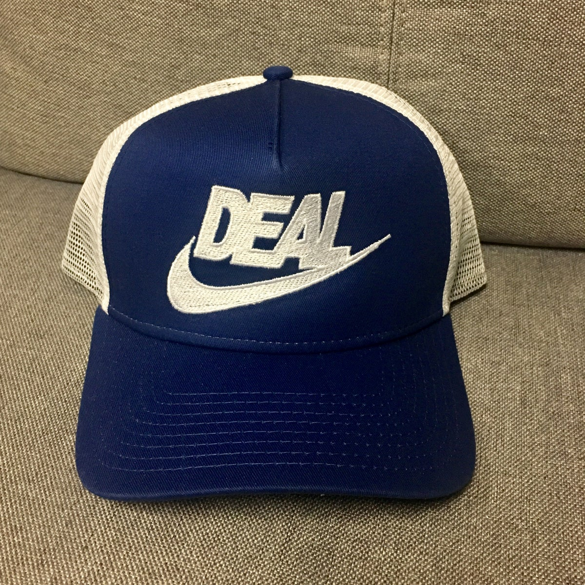 Deal Embroidered Snapback Trucker Cap!