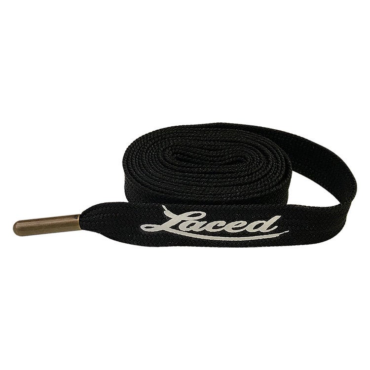 Image of Black With Gold Laced Belt