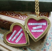 Image of The Literary Locket by F. Scott Fitzgerald