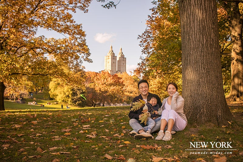 Image of Central Park - 2018 fall mini session