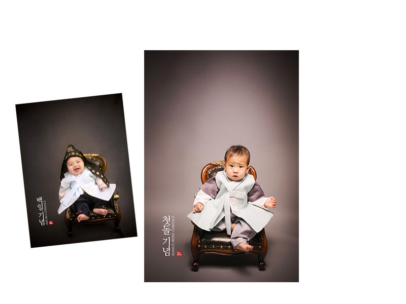 Image of [in studio] Baby photo session