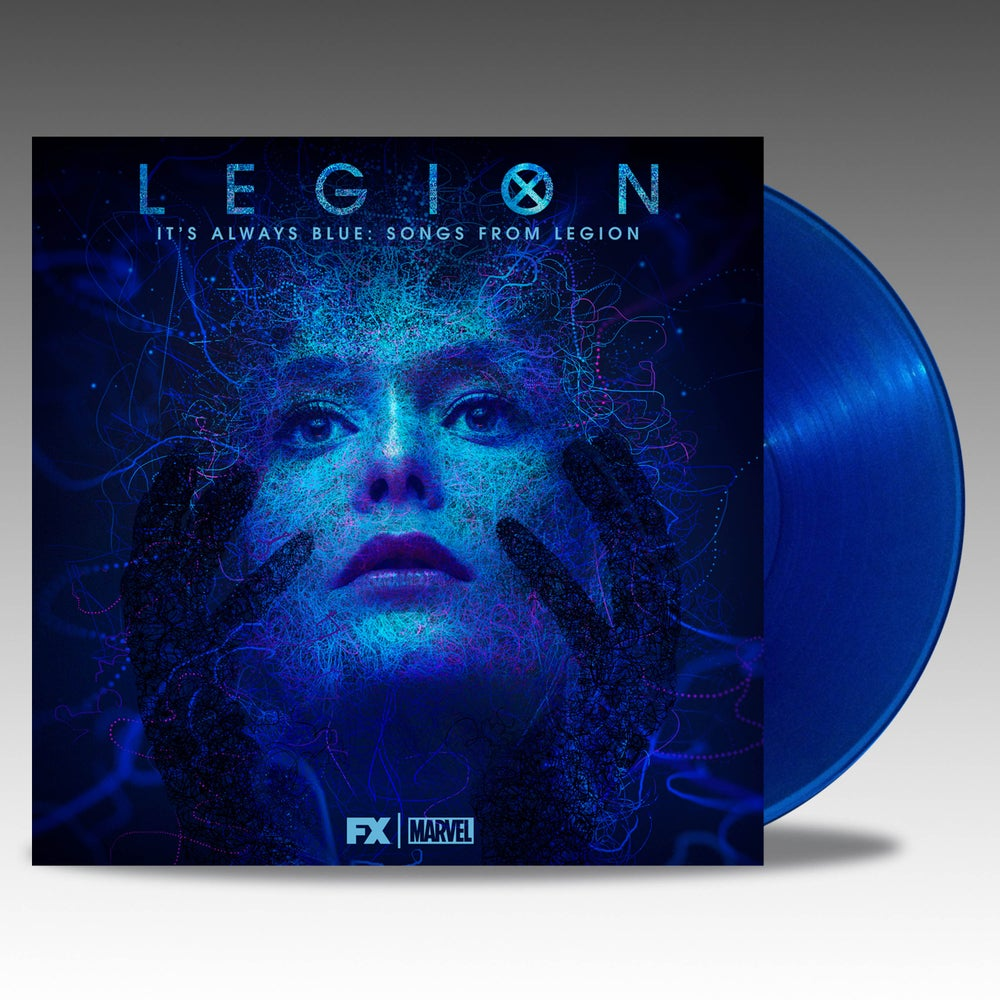 Image of Legion: It's Always Blue - Songs From Legion 'Transparent Blue' Vinyl - Noah Hawley & Jeff Russo