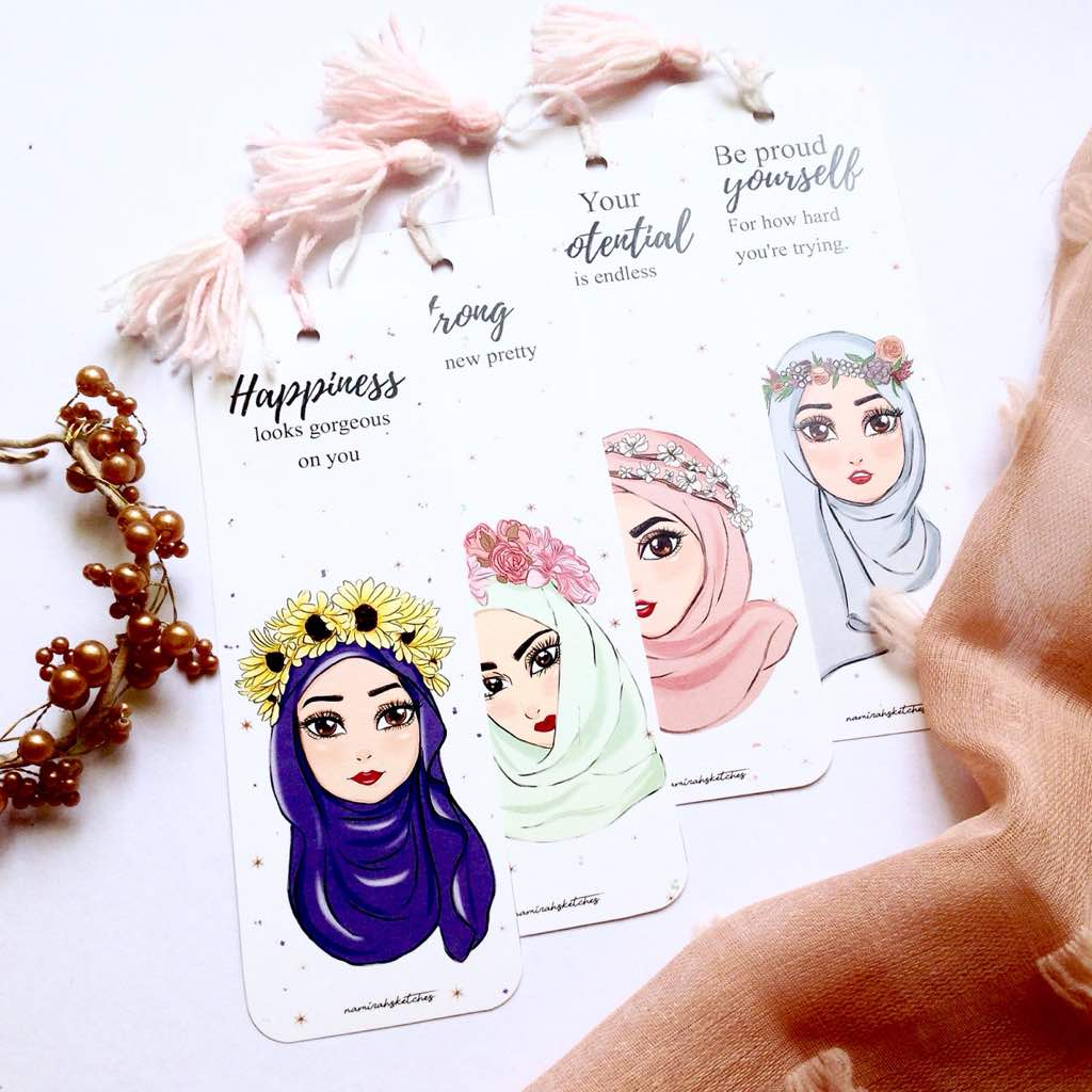 Flower Crown Series Bookmark Set Namirahsketches Choose from over a million free vectors, clipart graphics, vector art images, design templates, and illustrations created by artists worldwide! flower crown series bookmark set