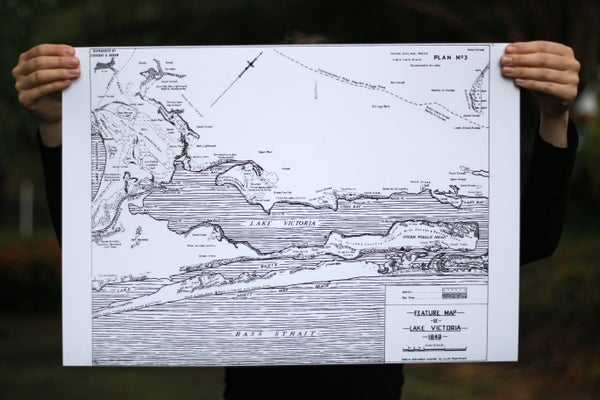 Image of Loch Sport and surrounds, 1849 (A2, black on white)