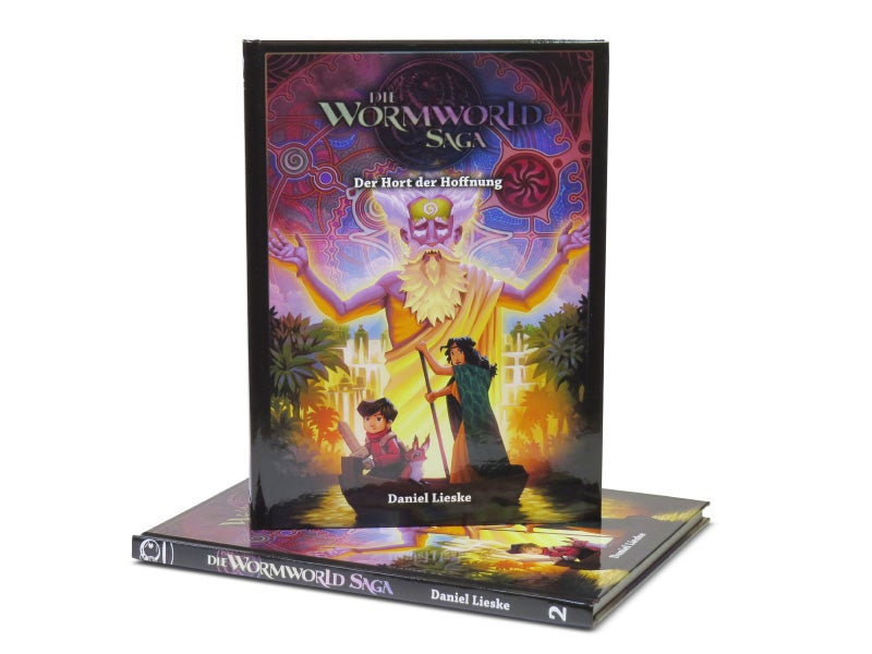 "Image of ""Die Wormworld Saga 2"" - German Hardcover Edition"