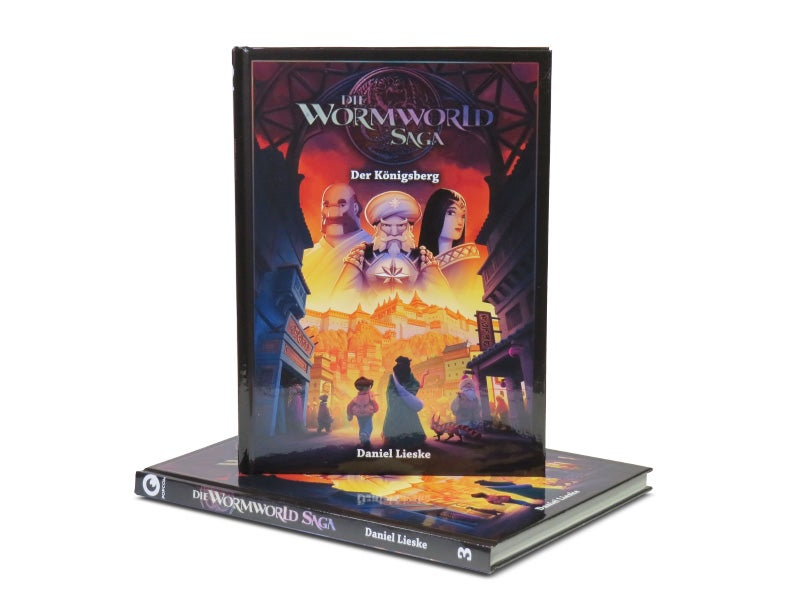 "Image of ""Die Wormworld Saga 3"" - German Hardcover Edition"