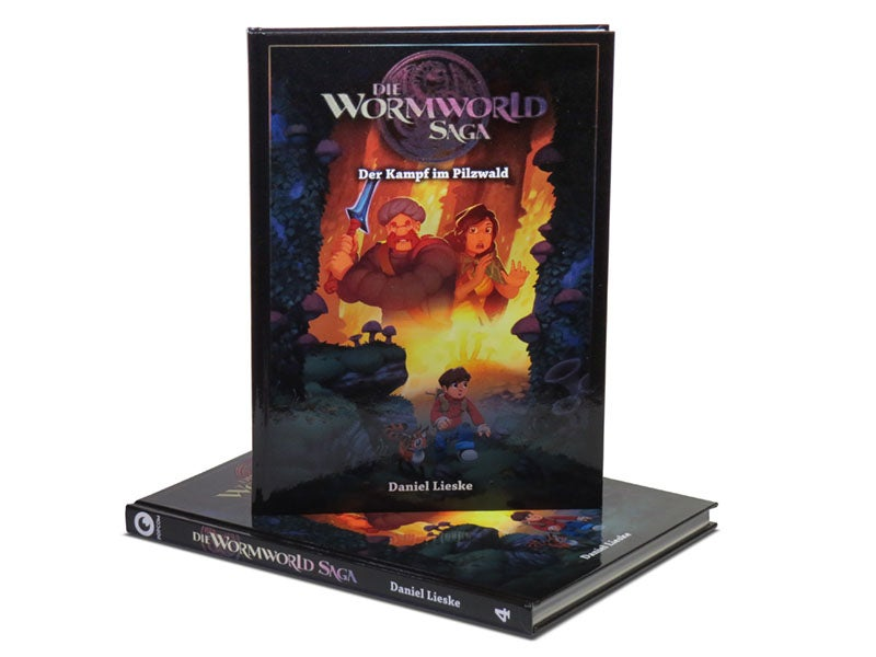 "Image of ""Die Wormworld Saga 4"" - German Hardcover Edition"