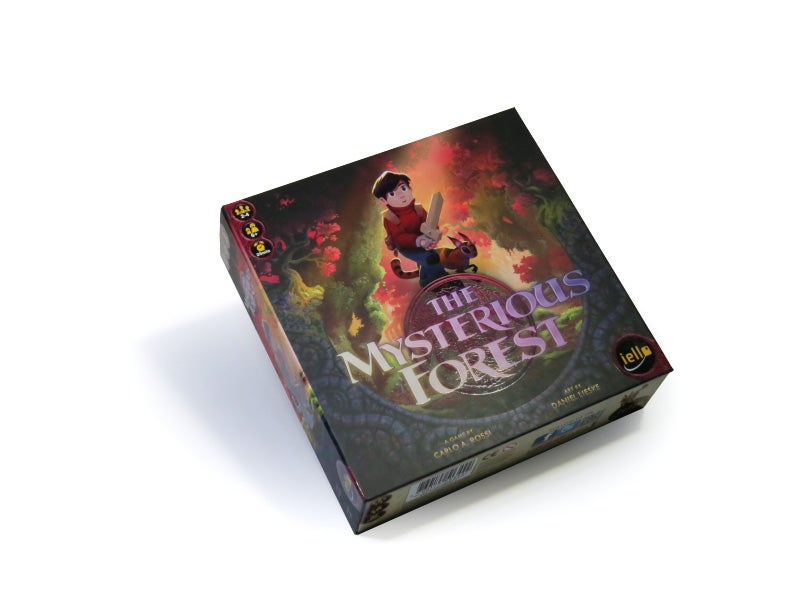 "Image of ""The Mysterious Forest"" - Board Game"