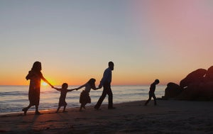Image of Fall Family Session - Sunrise Beach