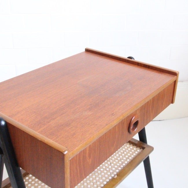 Image of Swedish midcentury bedside tables C1960