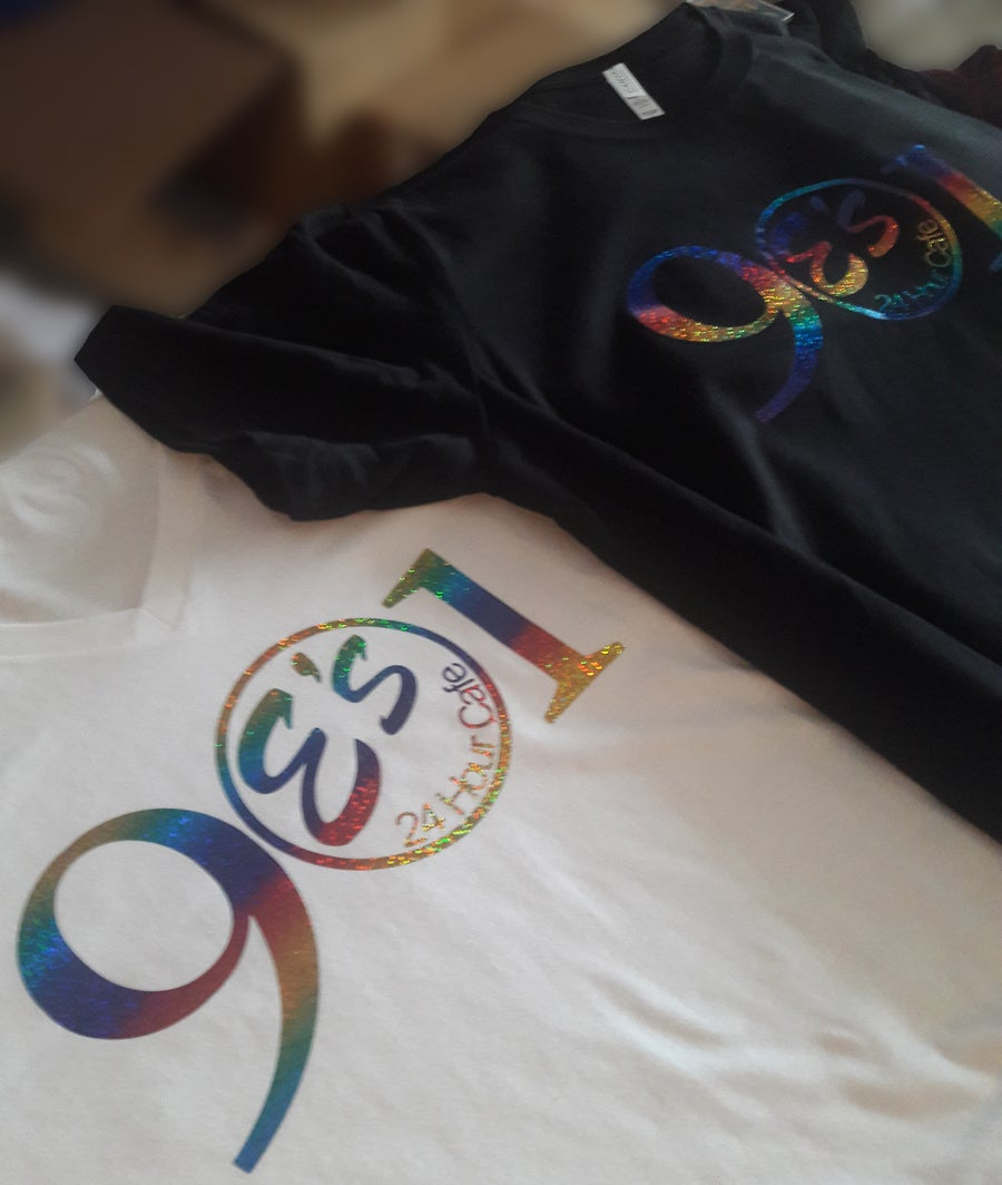 "Image of E's ""Rainbow 901"" Tee"