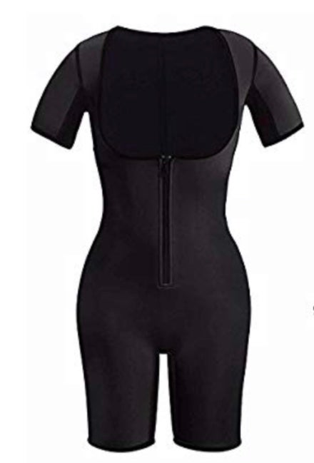 Image of Full Body Sauna Shaper Suit w/ sleeves