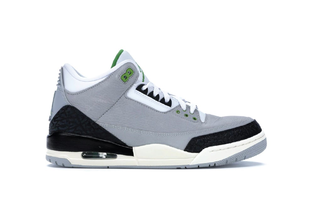 "Image of [Pre Order] Air Jordan 3 Retro ""Chlorophyll"" 136064-006"