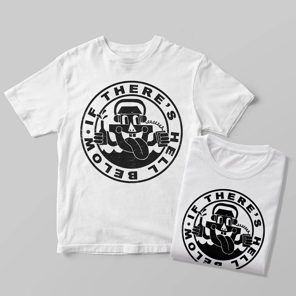 Image of If There's Hell Below Arkman Logo Tee: OG 1st Pressing