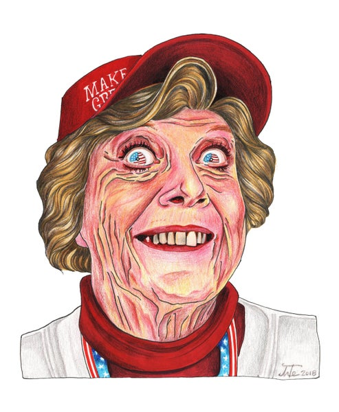 Image of Crazy Eyes Grannie