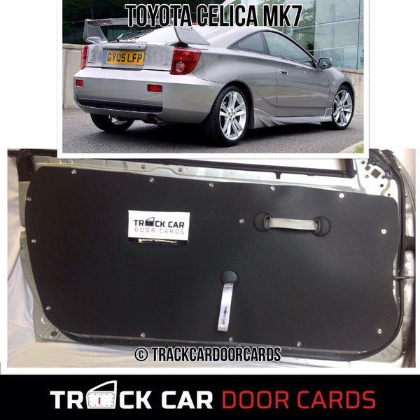 Image of Toyota Celica MK 7 - Track Car Door Cards