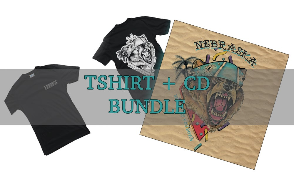 Image of NEBRASKA BUNDLE ( CD + TSHIRT)