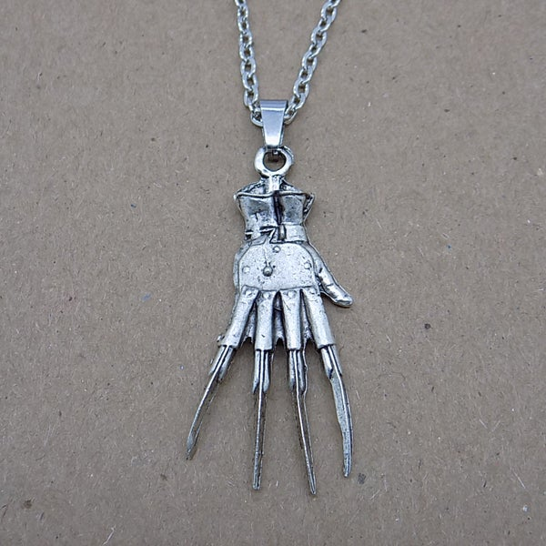 Image of Freddy Krueger Claw Necklace