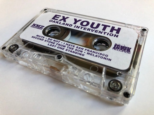 Image of Ex Youth 'Oakland Intervention' Cassette (Limited to 75)