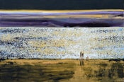 Image of Golden Reflections by the Shore, Rock, Cornwall