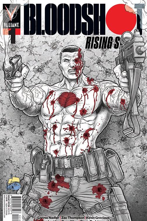 Image of Bloodshot Rising #1 Juan Jose Ryp Exclusive Variant