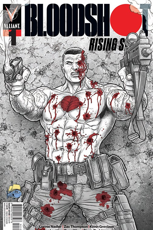 Image of Bloodshot Rising #1 Juan Jose Ryp Exclusive Variant