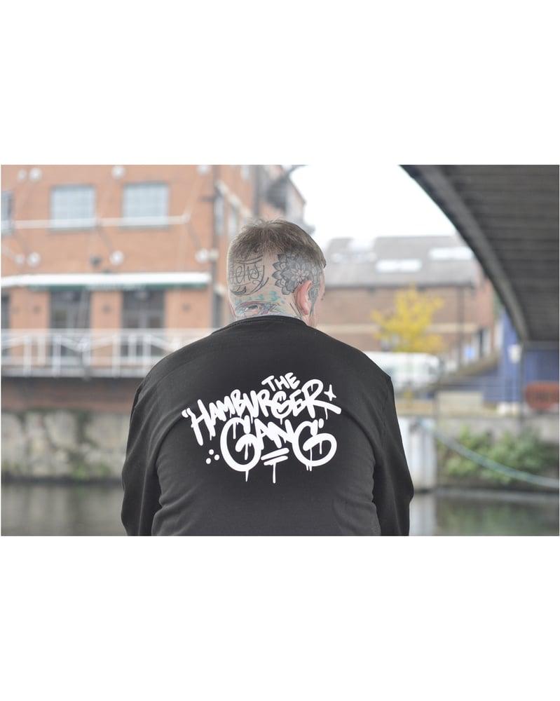 Image of The Hamburger Gang x Bushy Wopp Handstyle Sweater