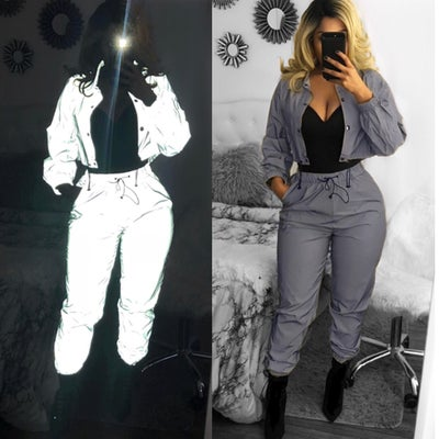 Image of Reflective Jogger set