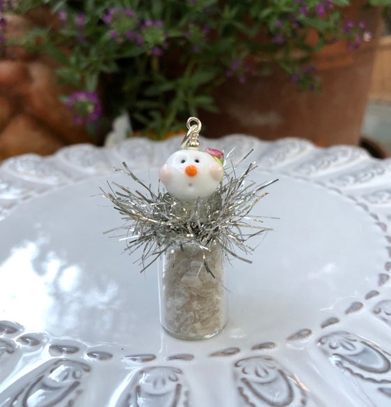 Image of ~LET IT SNOW ORNAMENT~ Pendant