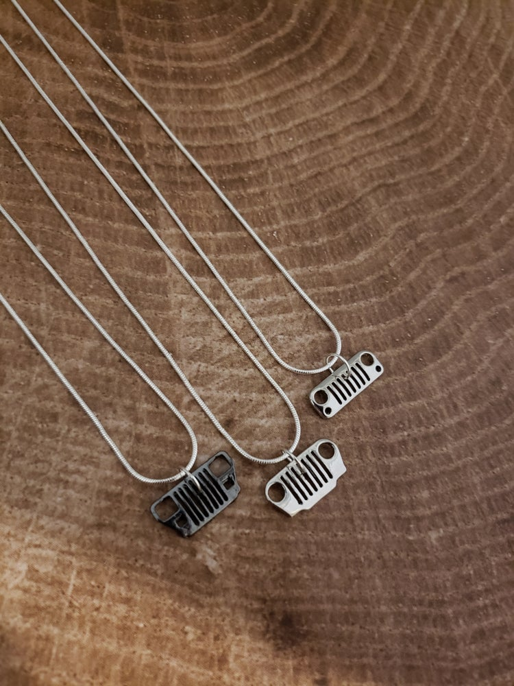 Image of Small Jeep Grill Necklaces