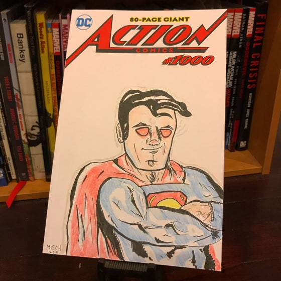 Image of Superman (Action Comics #1000 Blank Cover)
