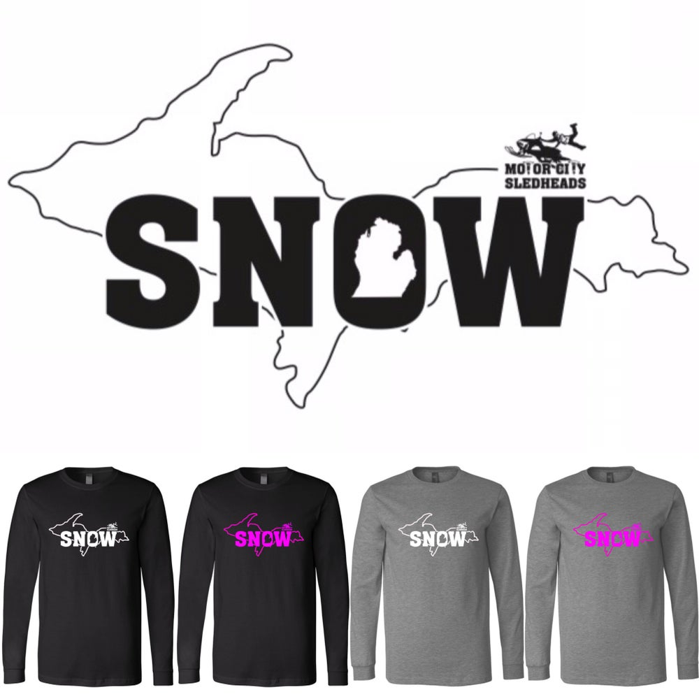 Image of Michigan SNOW Tee