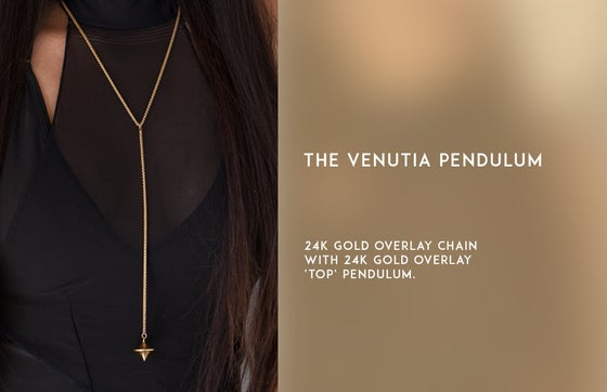 Image of The Venutia Pendulum Necklace
