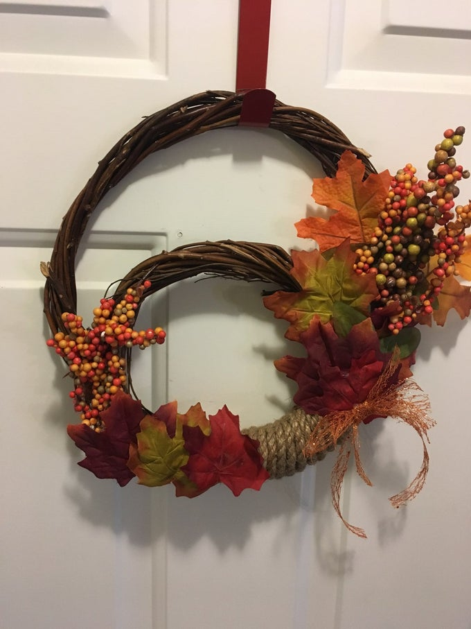 Image of Deluxe Grapevine Wreath