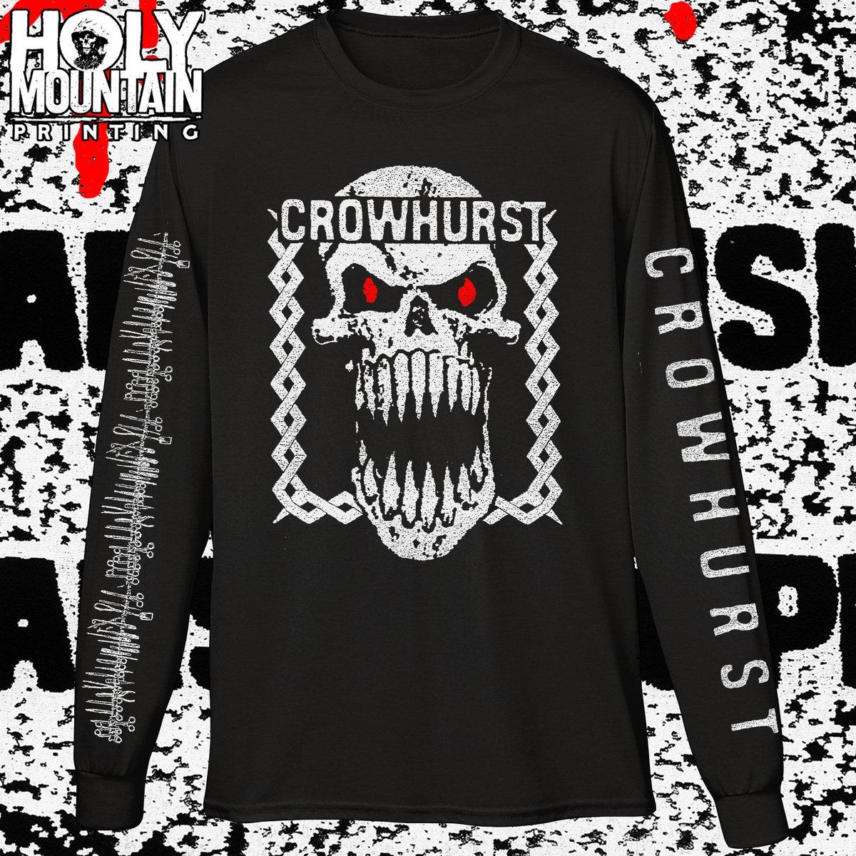 """Crowhurst """"Harsh Music For Harsh People"""" LS Shirt"""