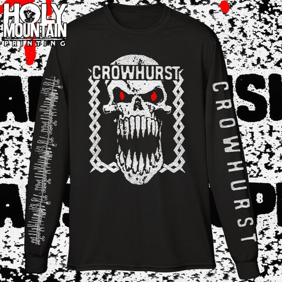 "Image of Crowhurst ""Harsh Music For Harsh People"" LS Shirt"
