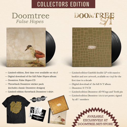 Image of S/T + False Hopes LP Reissues (COLLECTORS EDITION) - DOOMTREE [PRE-ORDER]