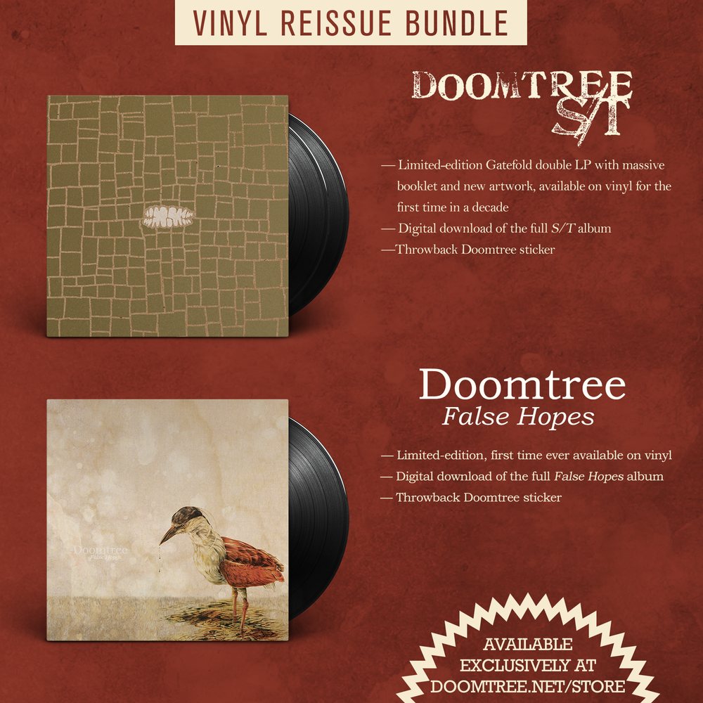 Image of S/T + False Hopes LP Reissue Bundle - DOOMTREE [PRE-ORDER]