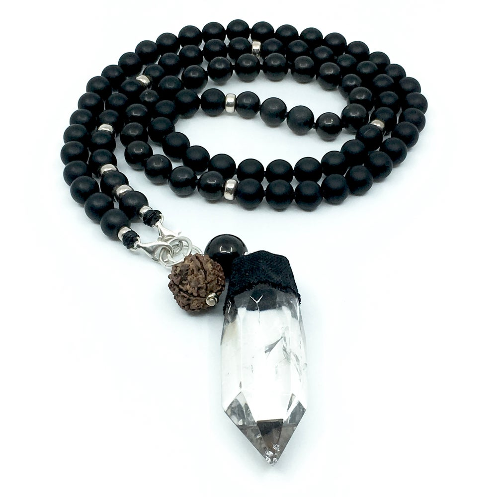 Image of Phantom Quartz Double Infinity Mala