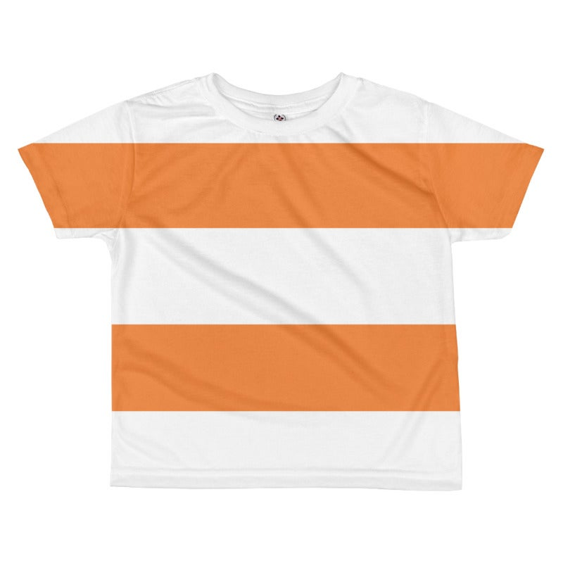 Image of White + Color Stripes Tee