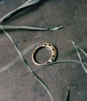 Image of Lasca Black Diamonds Ring